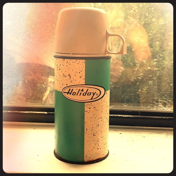 holiday Other - Vintage thermos rare atomic pattern